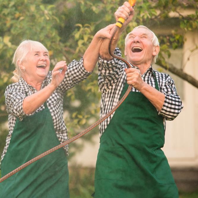 Boomer & Senior - gardening
