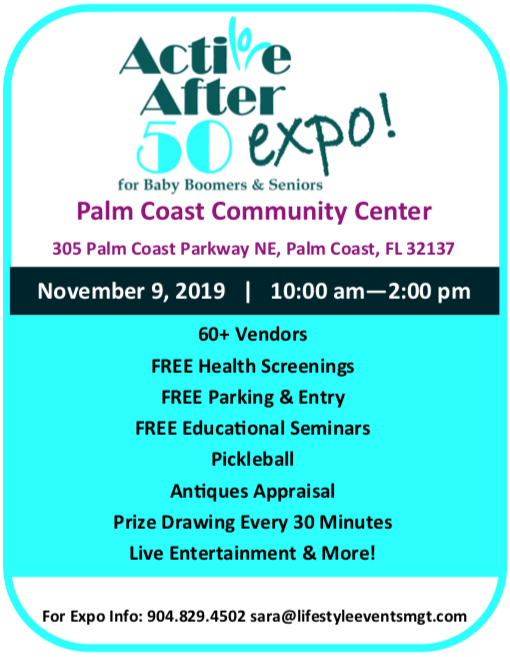 Active After 50 Expo - Palm Coast 11-9-19