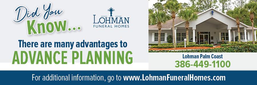 Lohman Palm Coast Web banner